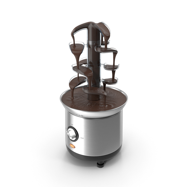 Cascading Chocolate Fountain Machine PNG & PSD Images