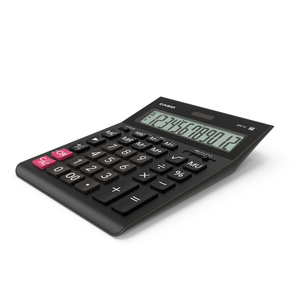 Casio GR-12 Calculator PNG & PSD Images