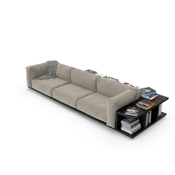 Cassina Mex And Books PNG & PSD Images