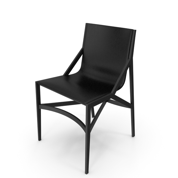 Cassina Pilotta Chair Black PNG & PSD Images