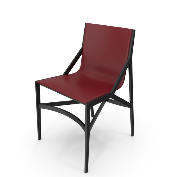 Cassina Pilotta Chair Black Red PNG & PSD Images