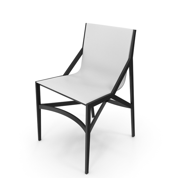 Cassina Pilotta Chair Black White PNG & PSD Images