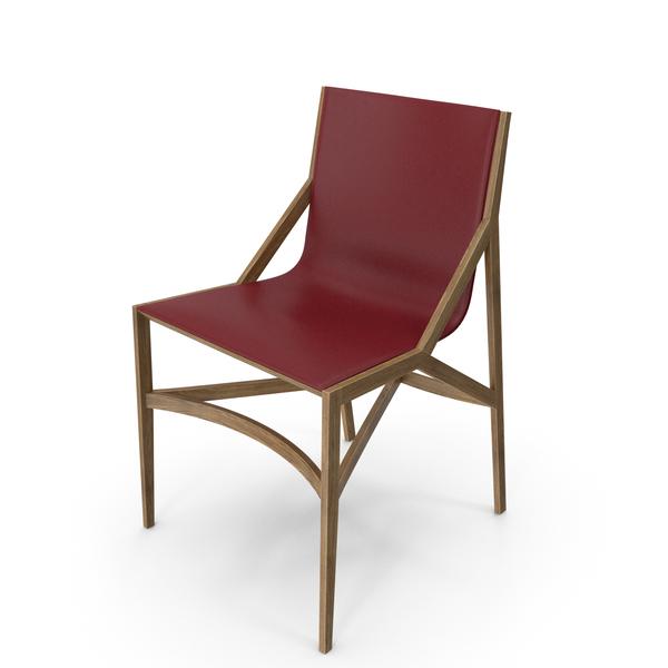Cassina Pilotta Chair Oak Red PNG & PSD Images