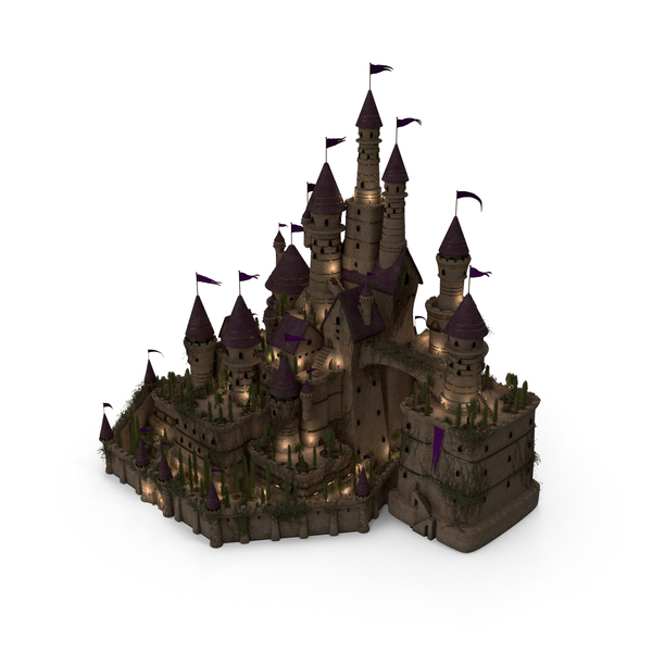 Castle at Night PNG & PSD Images