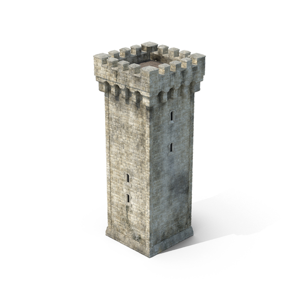 Castle Tower Object