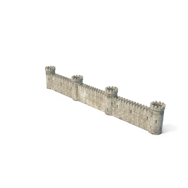 Castle Wall Object