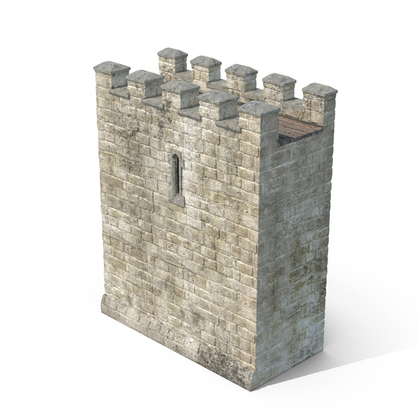 Castle Wall Section PNG & PSD Images