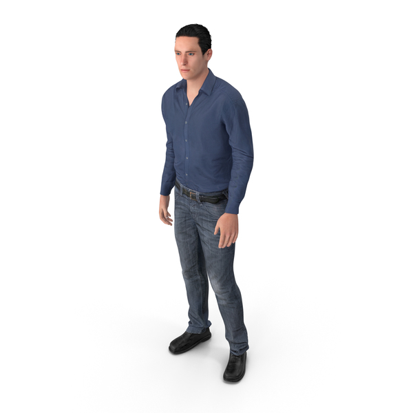 Casual Man James PNG & PSD Images