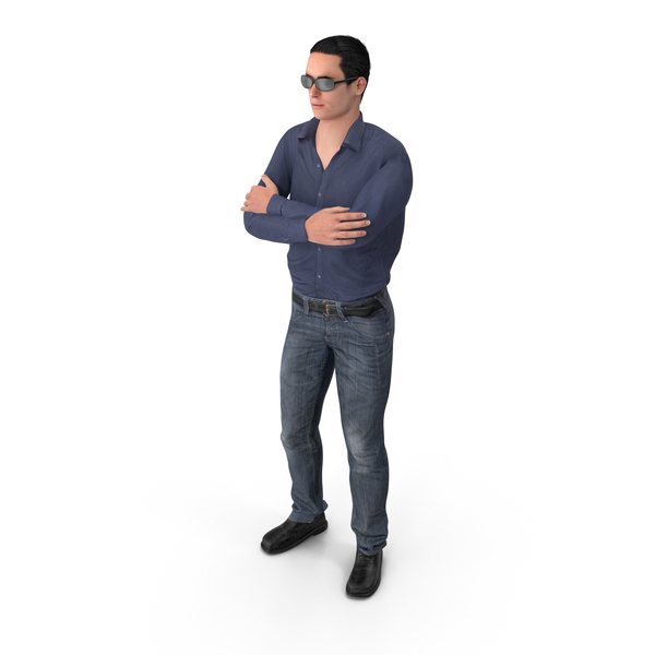 Casual Man James Wearing Sunglasses PNG & PSD Images