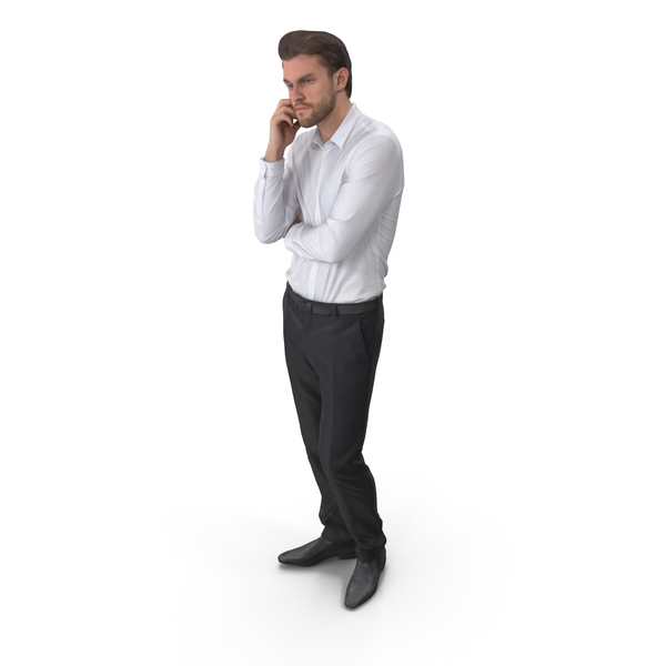 Casual Man Posed PNG & PSD Images