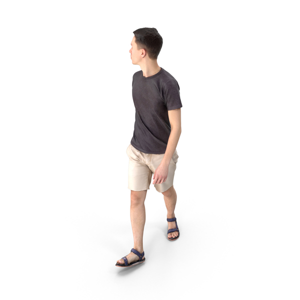 Casual Man Walking PNG & PSD Images
