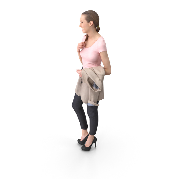 Casual Woman Posed PNG & PSD Images