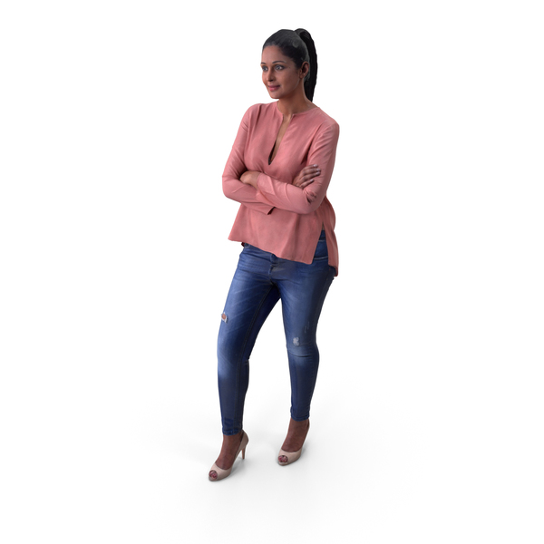 Woman: Casual Women Posed PNG & PSD Images
