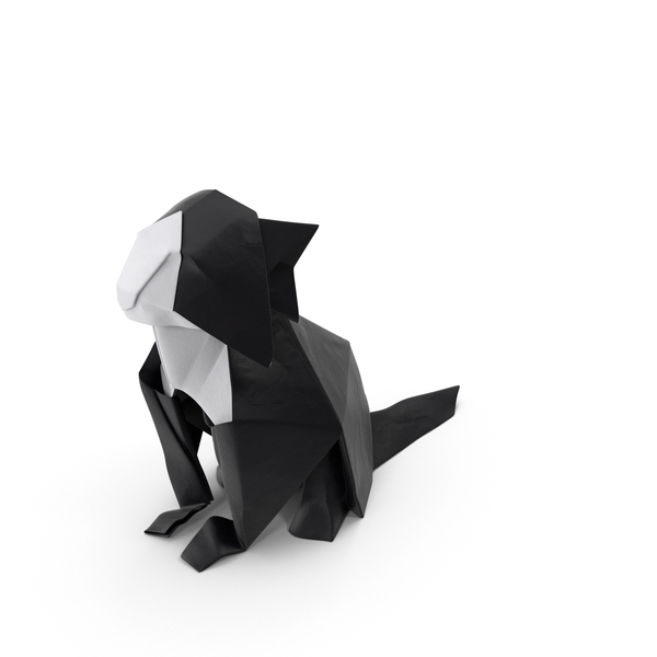 Origami: Cat PNG & PSD Images