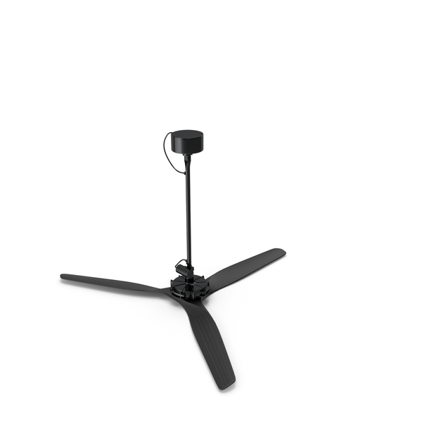 Ceiling Fan Black PNG & PSD Images