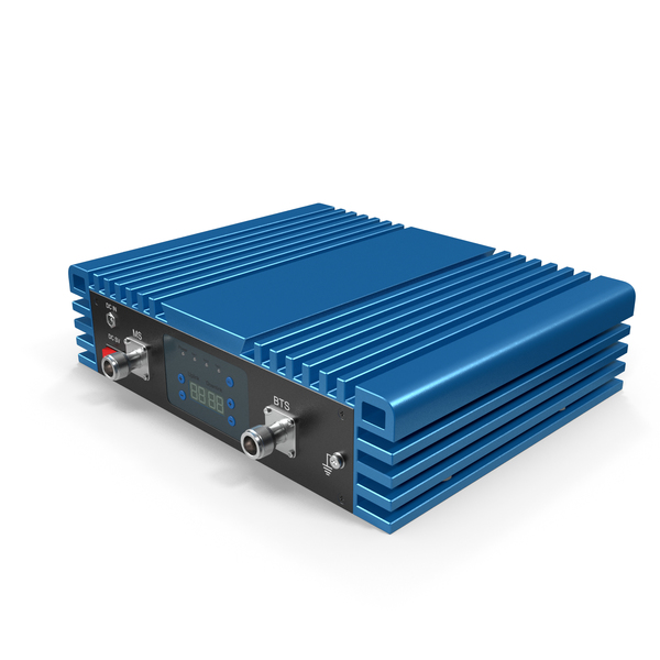 Router: Cellphone Signal Booster Blue PNG & PSD Images