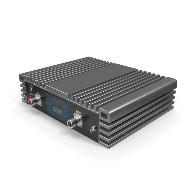 Router: Cellphone Signal Booster Grey PNG & PSD Images