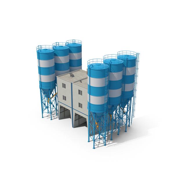 Cement Mixer Plant PNG & PSD Images