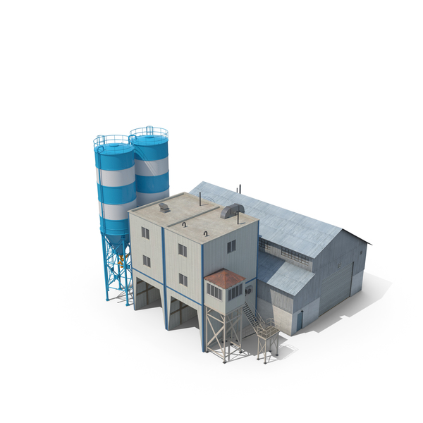 Cement Plant PNG & PSD Images