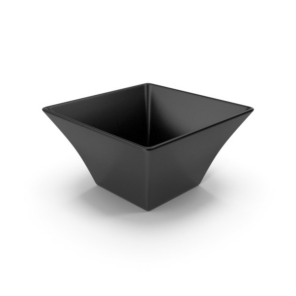 Ceramic Bowl Black PNG & PSD Images