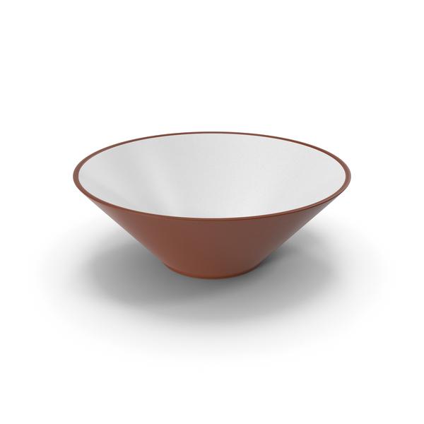 Ceramic Bowl Brown PNG & PSD Images