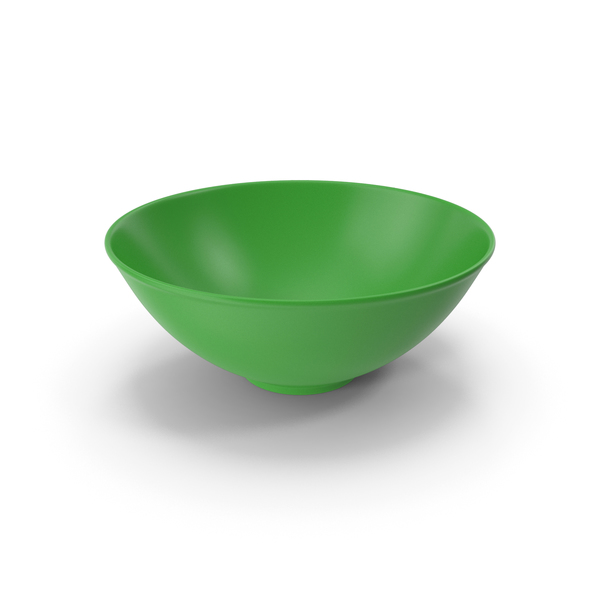 Ceramic Bowl Green PNG & PSD Images