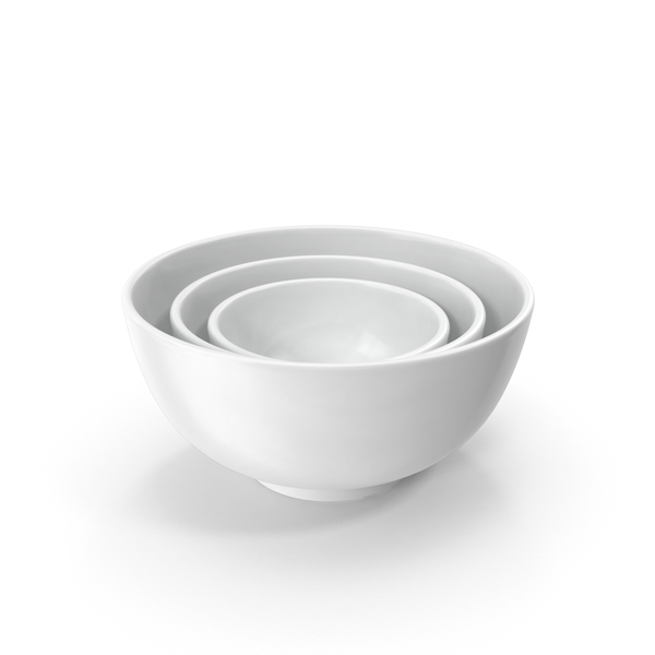 Ceramic Bowl Set PNG & PSD Images