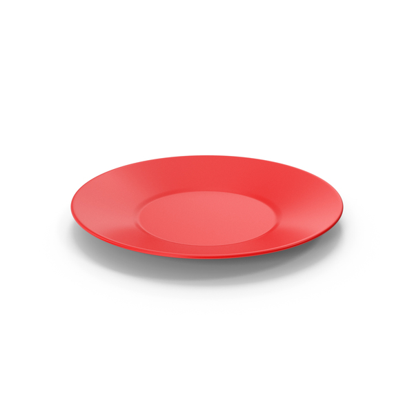 Ceramic Plate Red PNG & PSD Images