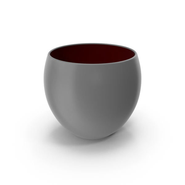 Ceramic Pot Gray PNG & PSD Images