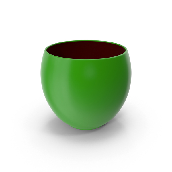 Ceramic Pot Green PNG & PSD Images