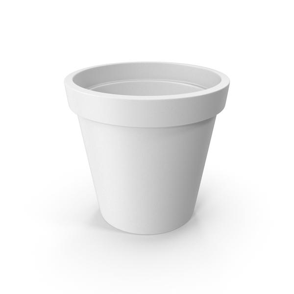 Ceramic Pot White PNG & PSD Images