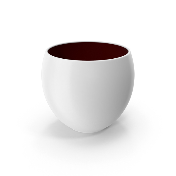 Ceramic Pot White PNG & PSD Images