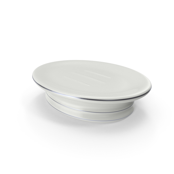 Bathroom Accessories: Ceramic Soap Dish PNG & PSD Images