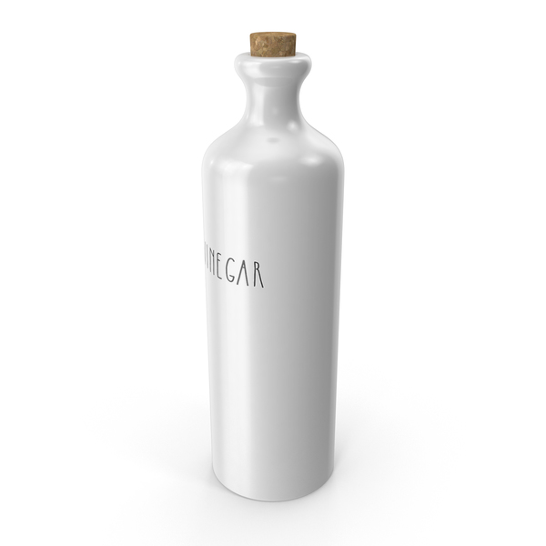Ceramic Vinegar Bottle PNG & PSD Images