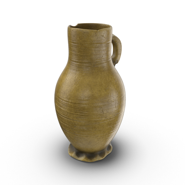 Ceramic Wine Jug Object