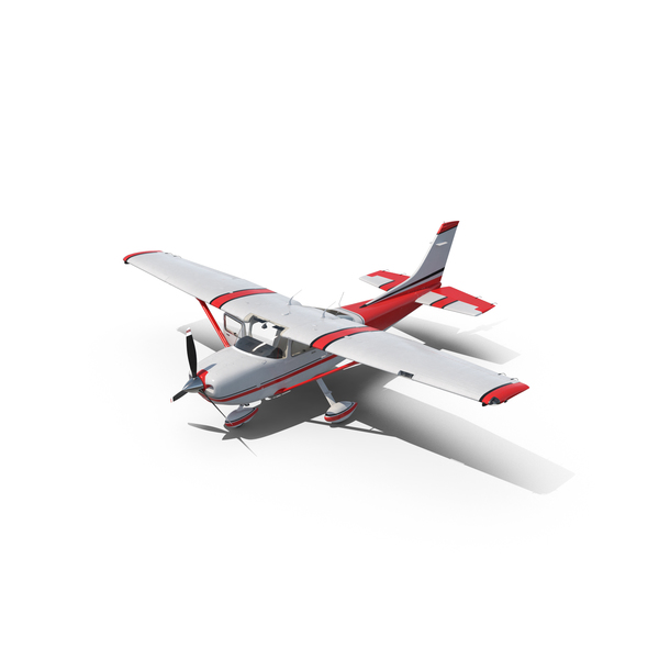 Private Propeller Plane: Cessna 182 Skylane PNG & PSD Images