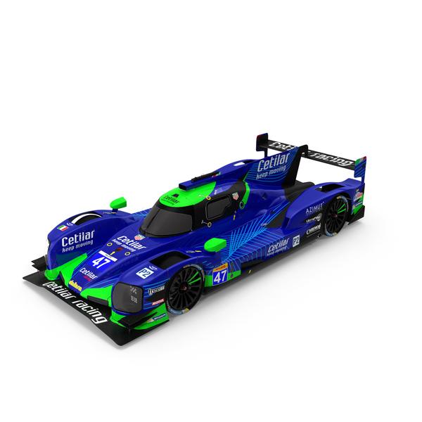 Race Car: Cetilar Racing Dallara P217 LMP3 PNG & PSD Images