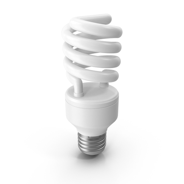 CFL Bulb PNG & PSD Images