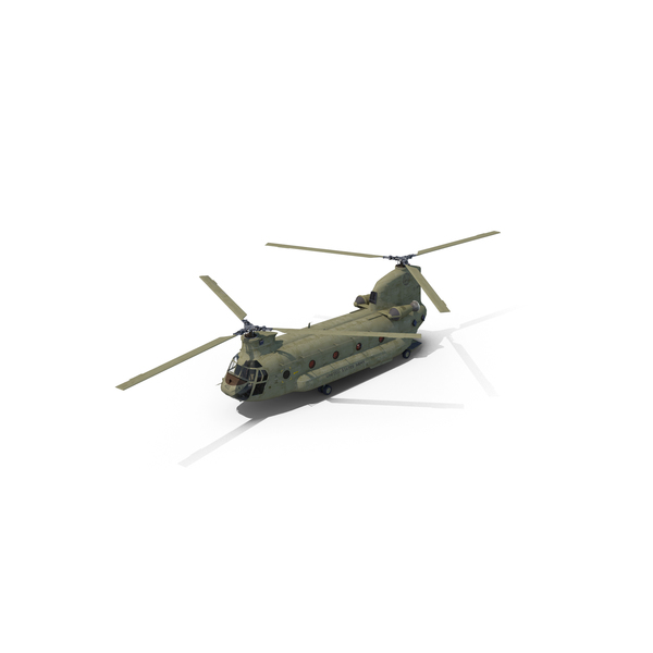 CH47 Chinook Helicopter PNG & PSD Images