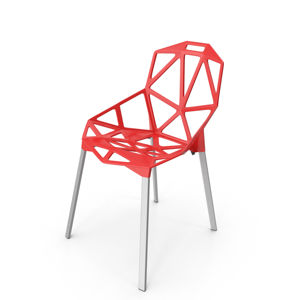 Chair One Red PNG & PSD Images