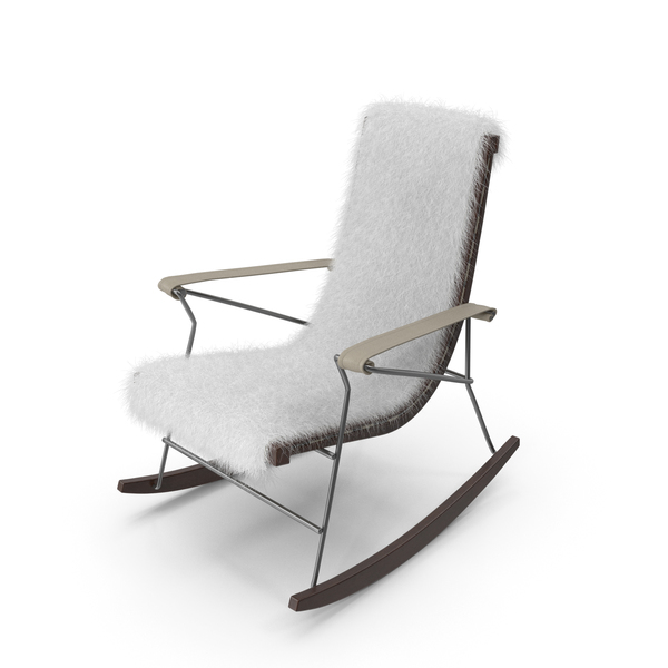 Chair Rocking Fur PNG & PSD Images