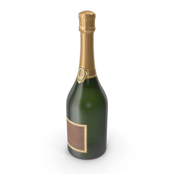 Champagne Bottle PNG & PSD Images