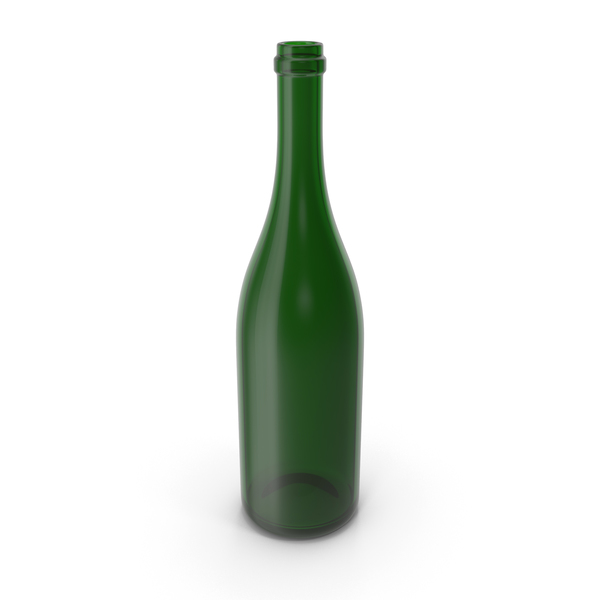 Champagne Bottle Empty PNG & PSD Images