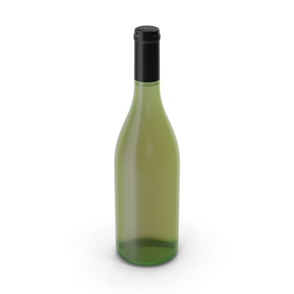Champagne Bottle No Label PNG & PSD Images