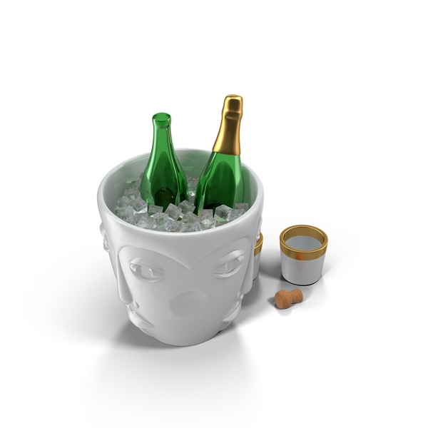 Bottle: Champagne Bucket PNG & PSD Images