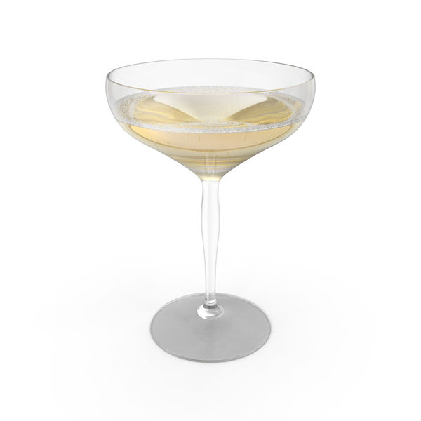 Champagne Coupe Object