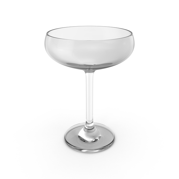 Flute: Champagne Coupe Glass PNG & PSD Images
