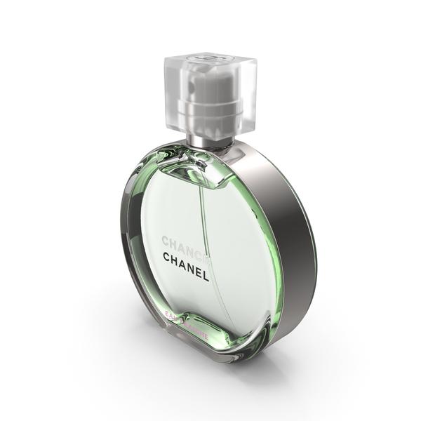 Perfume: Chanel Chance Eau Fraiche Parfum Bottle PNG & PSD Images