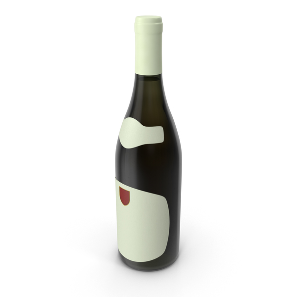 Chardonnay Bottle PNG & PSD Images