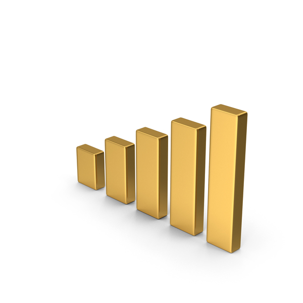 Chart Gold PNG & PSD Images